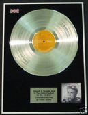 DAVID BOWIE  - Platinum LP Disc - CHANGESONEBOWIE